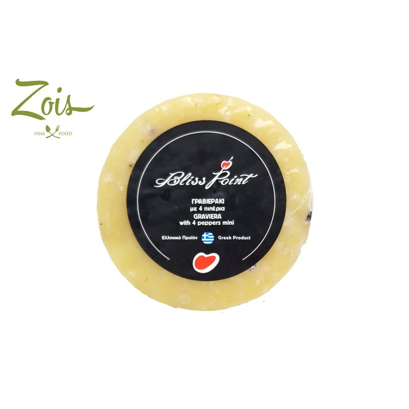 GRAVIERA CHEESE MINI WITH FOUR PEPPERS APPROX 300GM